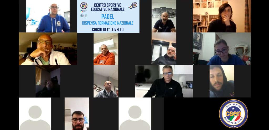 Presentazione I° CORSO ISTRUTTORI PADEL ORISTANO – MODULO ON-LINE